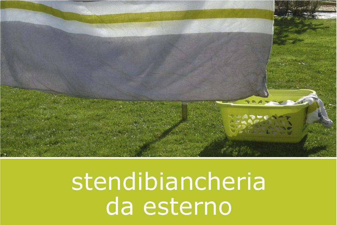 stendibiancheria da esterno per asciugare il bucato all'aperto